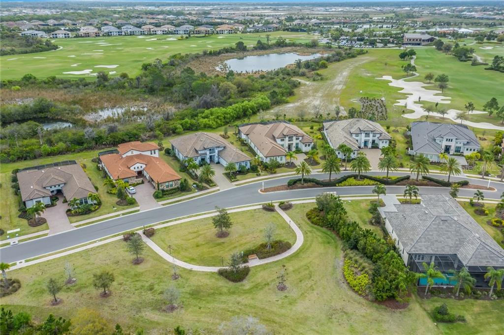 Park-like setting across the street - Single Family Home for sale at 16210 Castle Park Ter, Lakewood Ranch, FL 34202 - MLS Number is A4461861