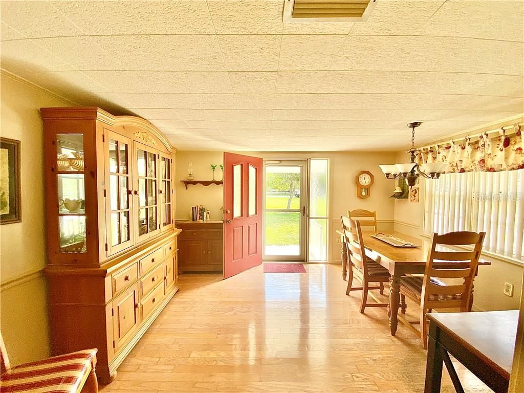 Dining room, view to the front door. - Single Family Home for sale at 4300 Eastern Pkwy, Sarasota, FL 34233 - MLS Number is A4464200