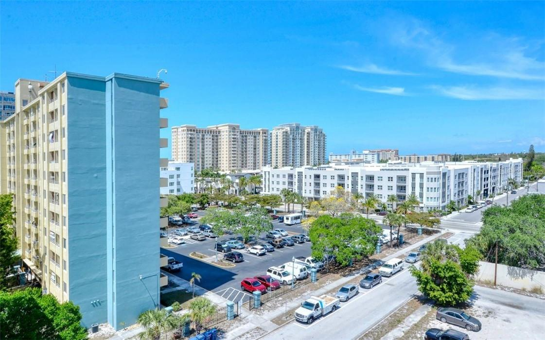 Take in city perimeter skyline views to the north west along Sarasota Bay from the flying roof top observation decks. - Condo for sale at 1350 5th Street #301, Sarasota, FL 34236 - MLS Number is A4466172