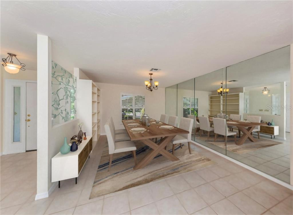 FLOOR PLAN - Single Family Home for sale at 4955 Landings Ct, Sarasota, FL 34231 - MLS Number is A4466279