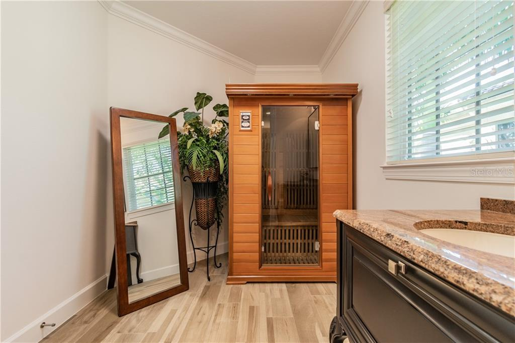 Spa/Sauna bath next to Master retreat Number 2 (bedroom 5) - Single Family Home for sale at 1418 John Ringling Pkwy, Sarasota, FL 34236 - MLS Number is A4467093
