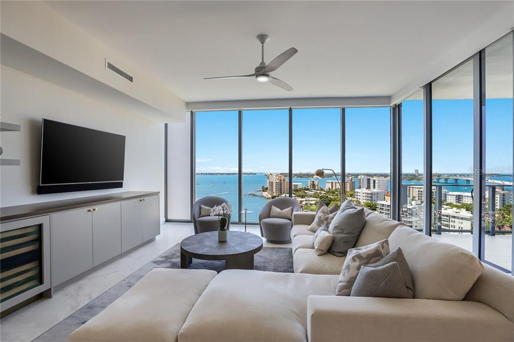 You'll feel like you're living in the sky with bar-none THE BEST views of Sarasota Bay and out to the Gulf of Mexico! - Condo for sale at 1155 N Gulfstream Ave #1404, Sarasota, FL 34236 - MLS Number is A4467921