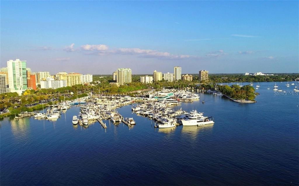 You are only a few blocks away from Bayfront Park and the marina. - Condo for sale at 609 Golden Gate Pt #201, Sarasota, FL 34236 - MLS Number is A4468917