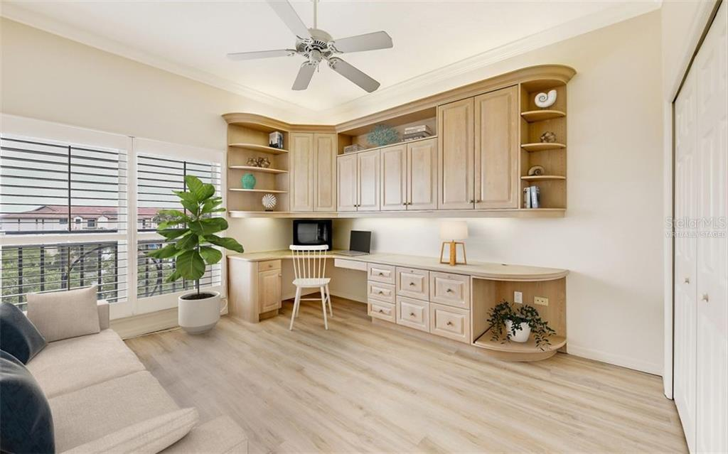 Virtually staged. - Condo for sale at 5440 Eagles Point Cir #401, Sarasota, FL 34231 - MLS Number is A4469777