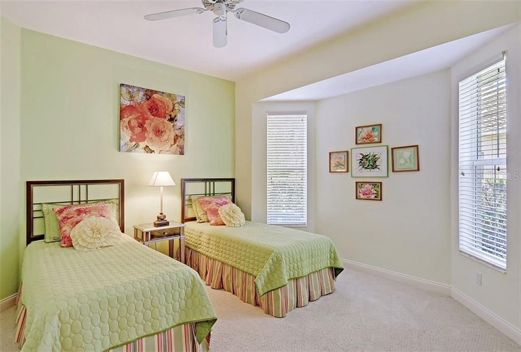Second Guest Bedroom - Single Family Home for sale at 9025 Rocky Lake Ct, Sarasota, FL 34238 - MLS Number is A4470339
