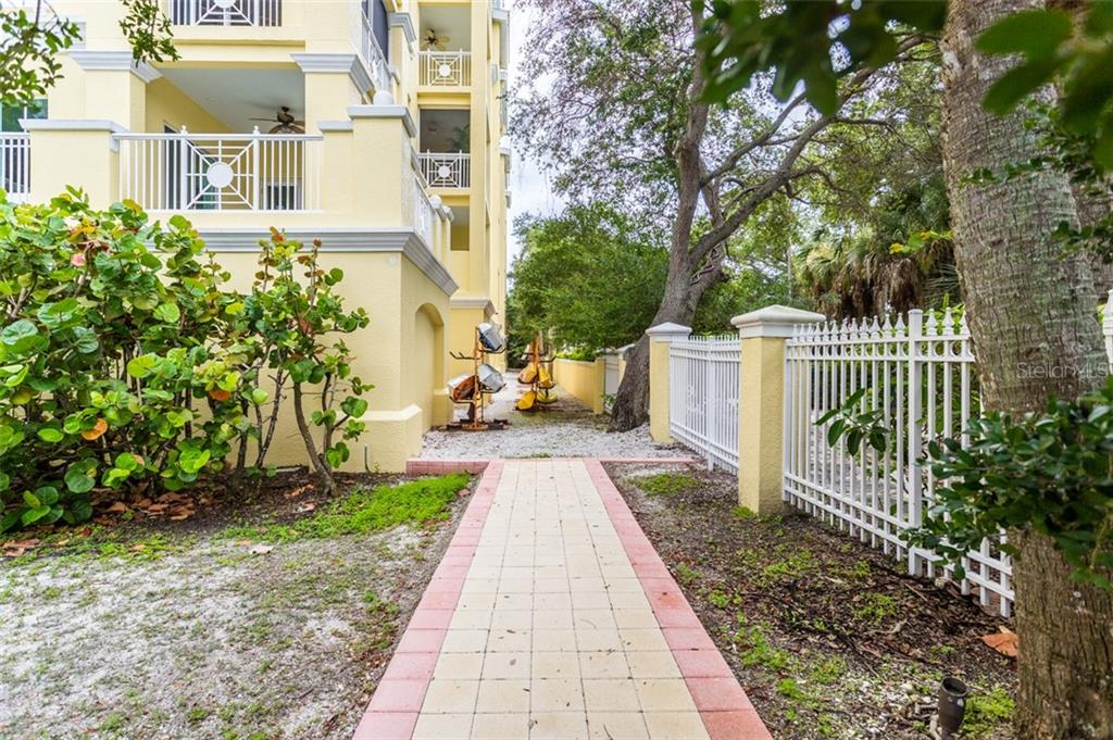 Store your kayaks here next to the kayak launch - Condo for sale at 1308 Old Stickney Point Rd #W24, Sarasota, FL 34242 - MLS Number is A4471155