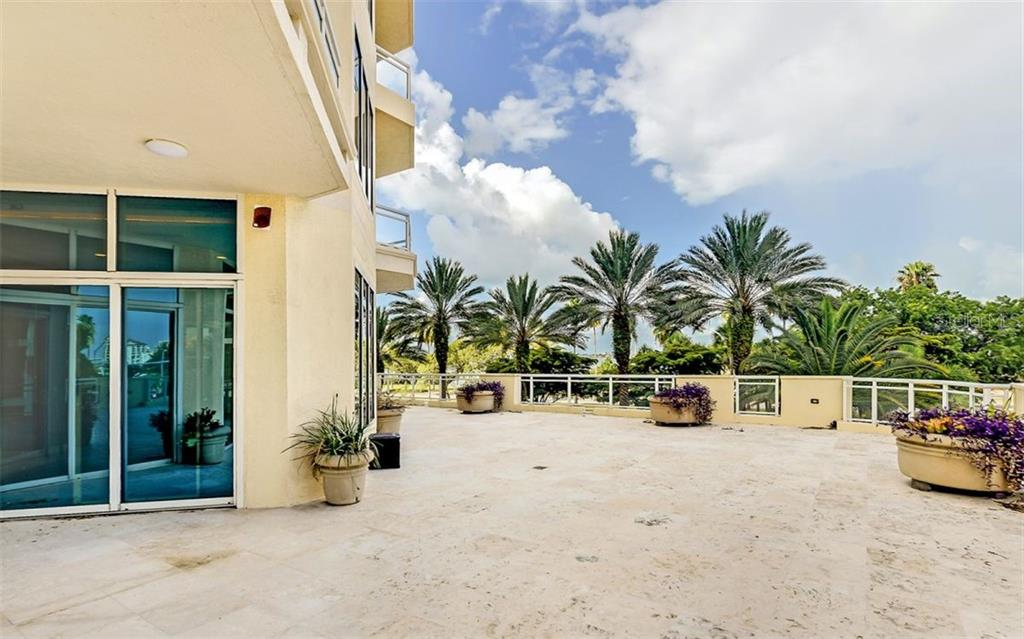 Personal Terrace - Condo for sale at 340 S Palm Ave #Pl1, Sarasota, FL 34236 - MLS Number is A4471687