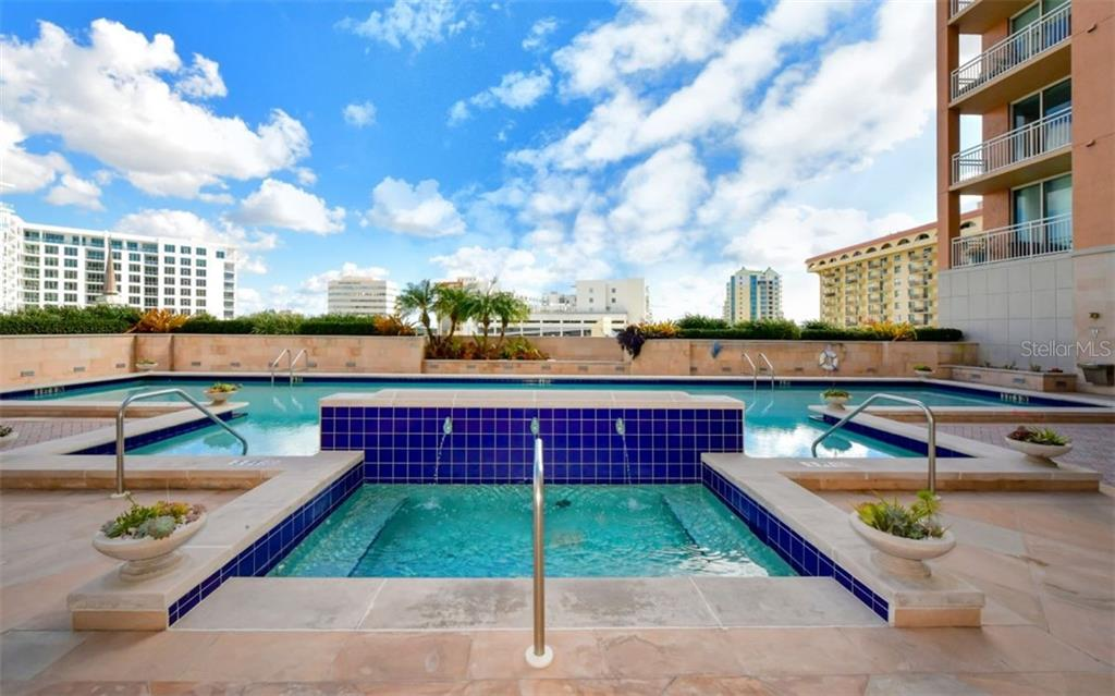 Spa - Condo for sale at 1350 Main St #701, Sarasota, FL 34236 - MLS Number is A4472236