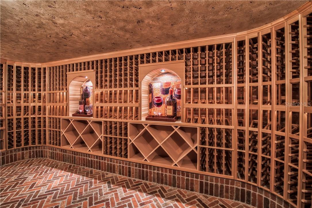 Hold over 10,000 Bottles in Chilled Wine Room - Single Family Home for sale at 8499 Lindrick Ln, Bradenton, FL 34202 - MLS Number is A4475594
