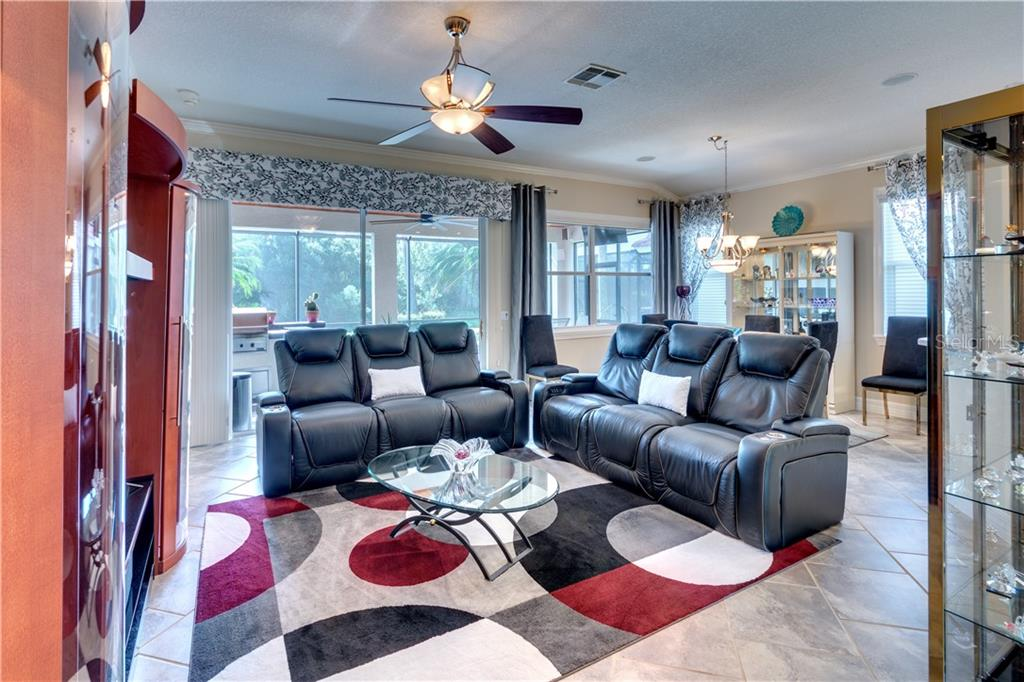 Great Room - Single Family Home for sale at 701 Misty Pond Ct, Bradenton, FL 34212 - MLS Number is A4476203