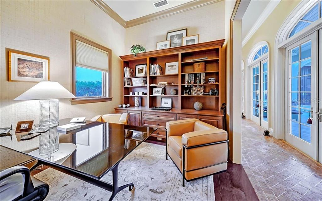 Office - Single Family Home for sale at 35 Lighthouse Point Dr, Longboat Key, FL 34228 - MLS Number is A4477572