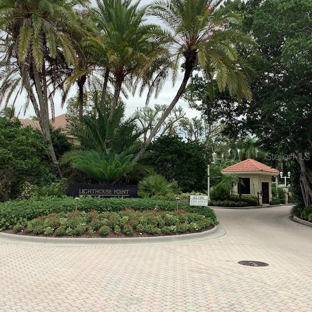Lighthouse Point neighborhood gate house - Single Family Home for sale at 35 Lighthouse Point Dr, Longboat Key, FL 34228 - MLS Number is A4477572