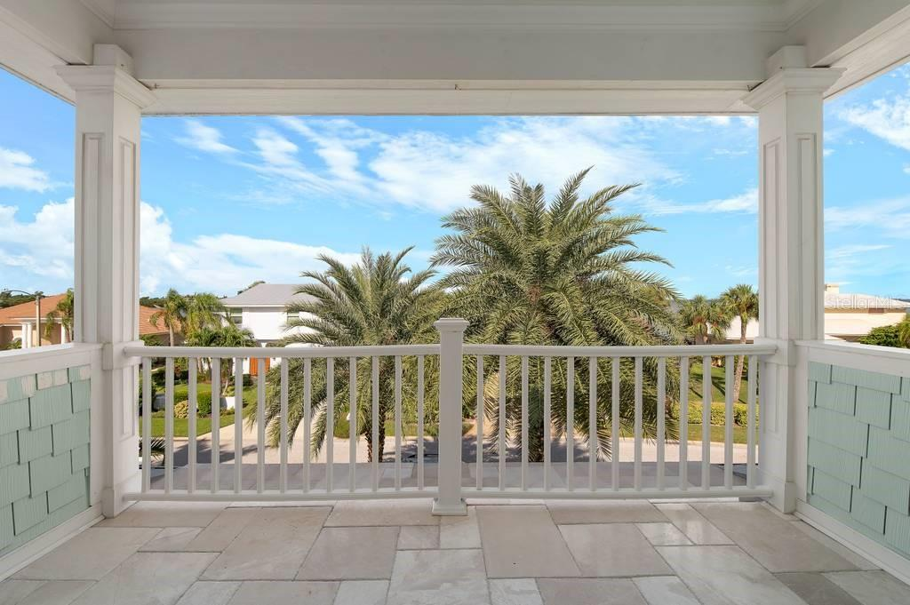 Third floor balcony. - Single Family Home for sale at 718 Key Royale Dr, Holmes Beach, FL 34217 - MLS Number is A4480381