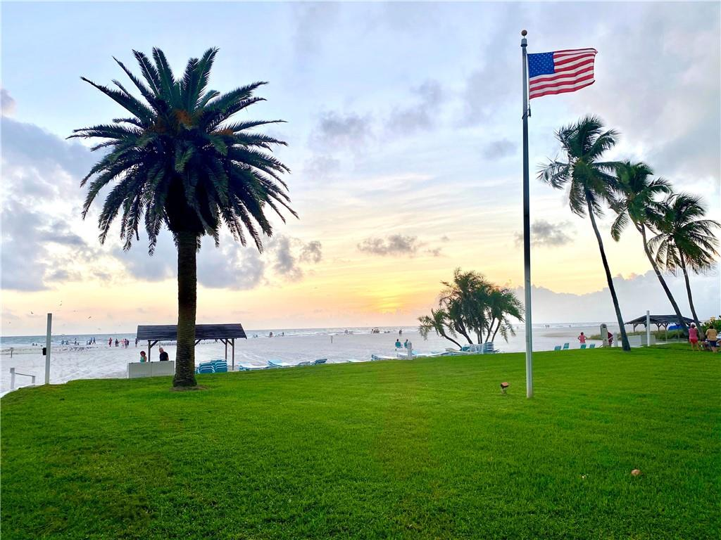 Green space where owners meet with their dogs for sunset. - Condo for sale at 5830 Midnight Pass Rd #303, Sarasota, FL 34242 - MLS Number is A4481917