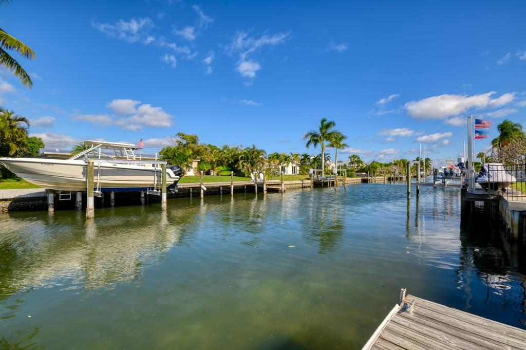 75 feet of canal frontage - Single Family Home for sale at 512 68th St, Holmes Beach, FL 34217 - MLS Number is A4484565