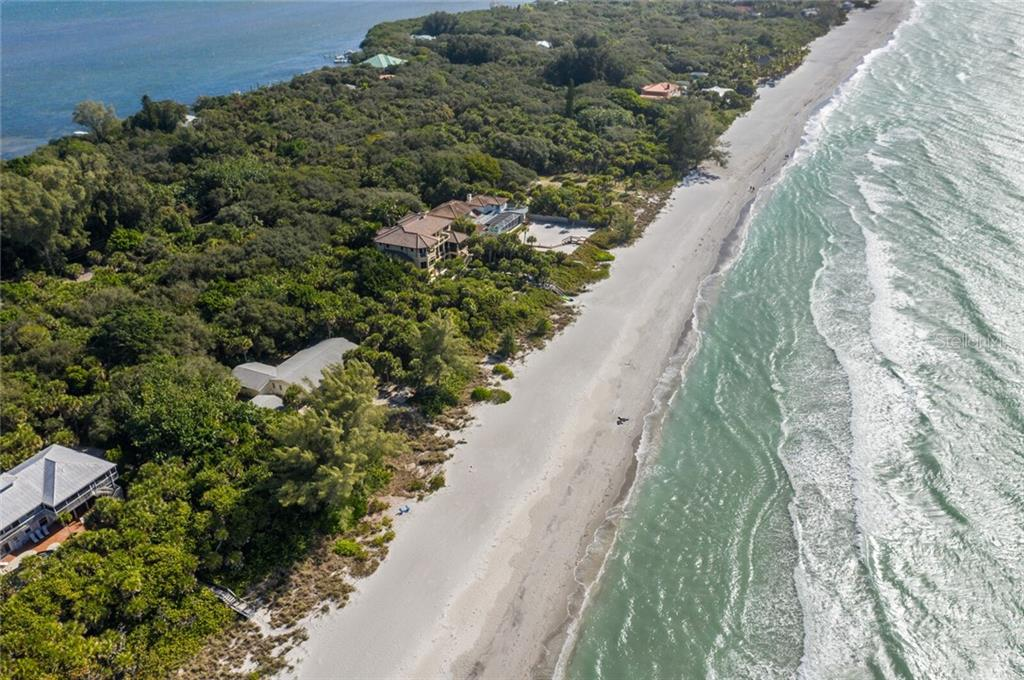 Beach Access is Private - Vacant Land for sale at 6390 Manasota Key Rd, Englewood, FL 34223 - MLS Number is A4487442