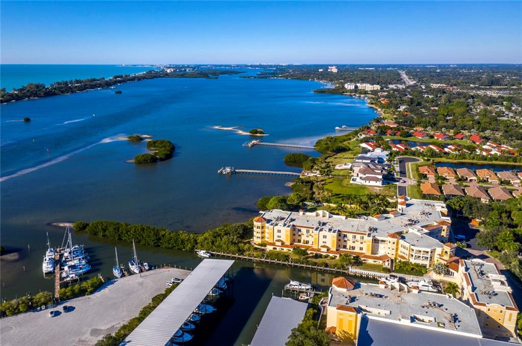 Kayaks, fishing boats, sail boats, or yachts.. endless opportunities to live out your waterfront dreams. - Condo for sale at 14021 Bellagio Way #407, Osprey, FL 34229 - MLS Number is A4487552