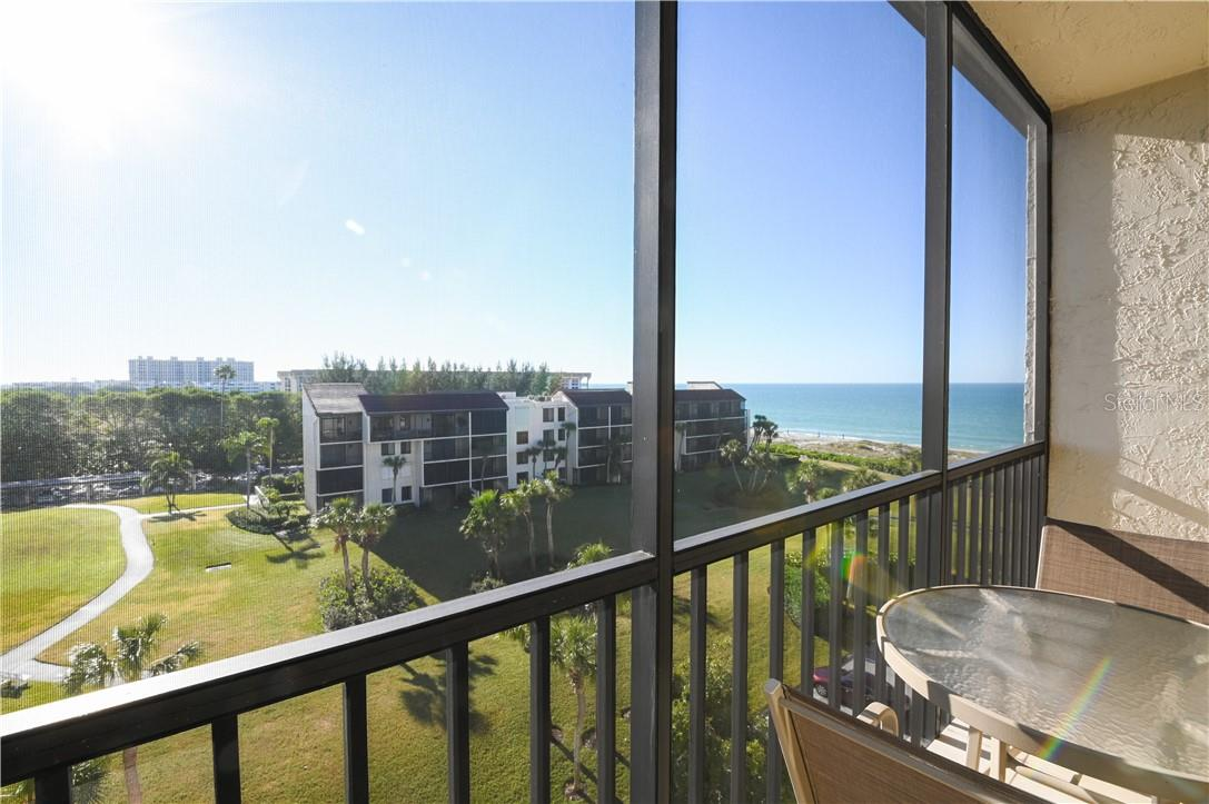 Screened-In Lanai with Marble Flooring - Condo for sale at 1945 Gulf Of Mexico Dr #M2-505, Longboat Key, FL 34228 - MLS Number is A4489188