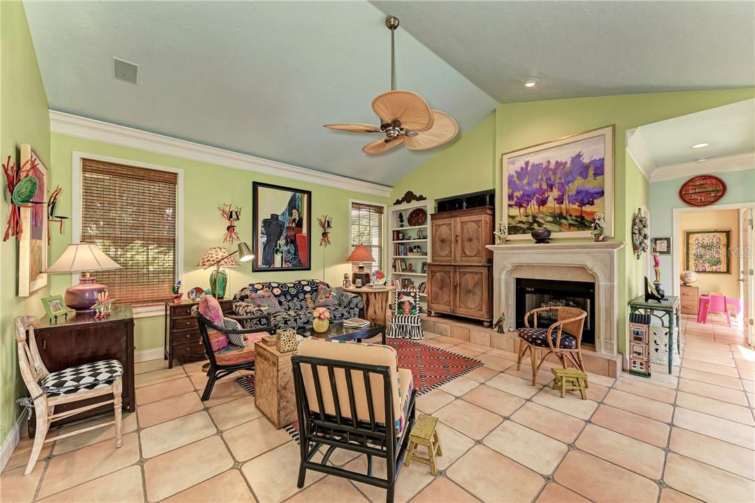 Family room - Single Family Home for sale at 7879 Estancia Way, Sarasota, FL 34238 - MLS Number is A4490318