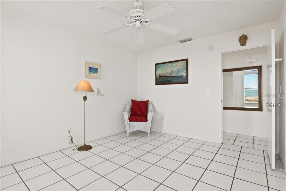 Bedroom 2 with beautiful views - Condo for sale at 5400 Gulf Dr #44, Holmes Beach, FL 34217 - MLS Number is A4493017