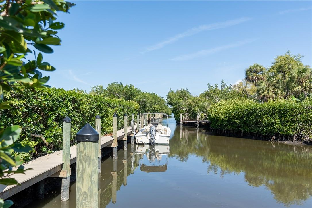 Community docks which you will receive your own personal slip - Vacant Land for sale at 11 Fishermens Bay Dr, Sarasota, FL 34231 - MLS Number is A4493227
