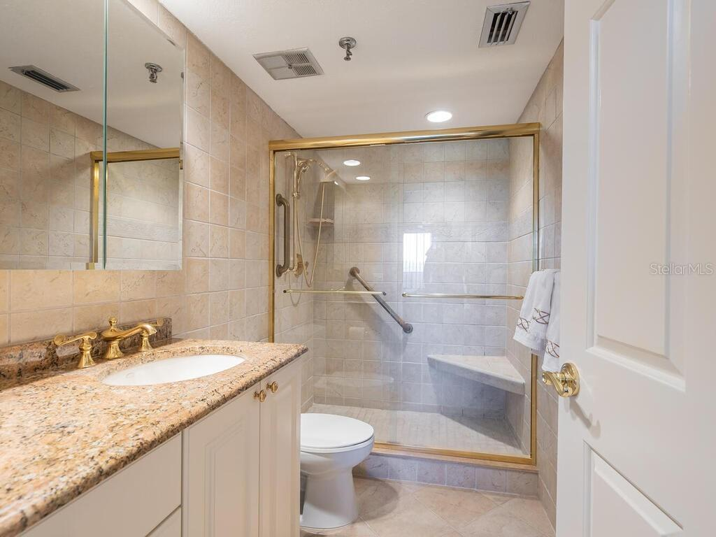 2nd Bathroom - Condo for sale at 1485 Gulf Of Mexico Dr #303, Longboat Key, FL 34228 - MLS Number is A4493417
