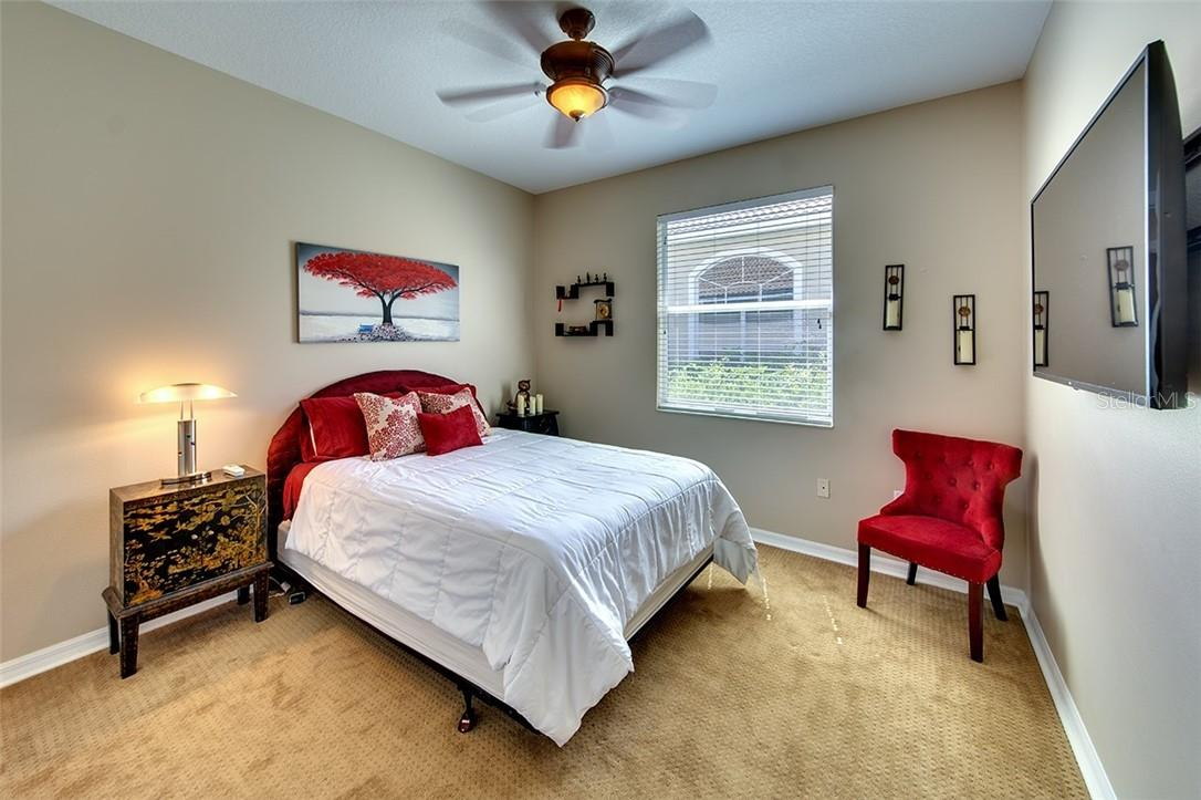Bedroom #2 - Single Family Home for sale at 7739 Us Open Loop, Lakewood Ranch, FL 34202 - MLS Number is A4494156