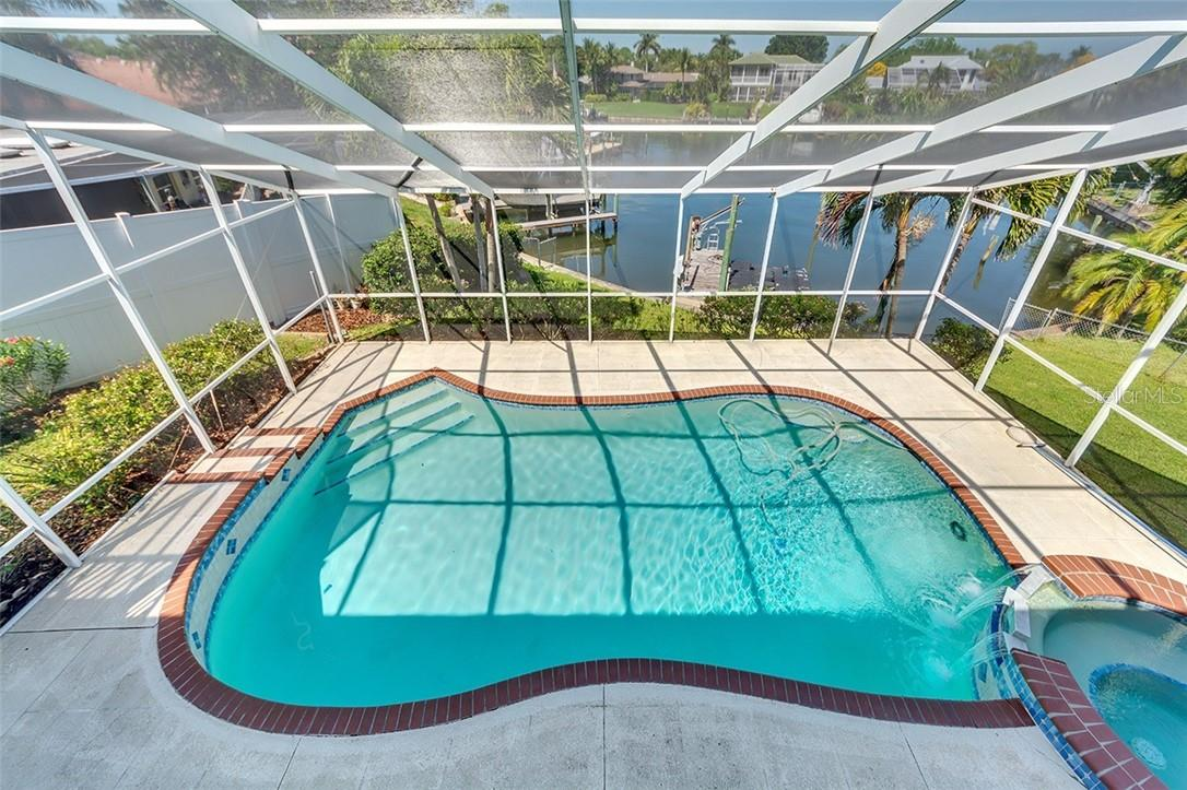Beautiful water views from the 2nd floor walkway - Single Family Home for sale at 1908 72nd St Nw, Bradenton, FL 34209 - MLS Number is A4495621