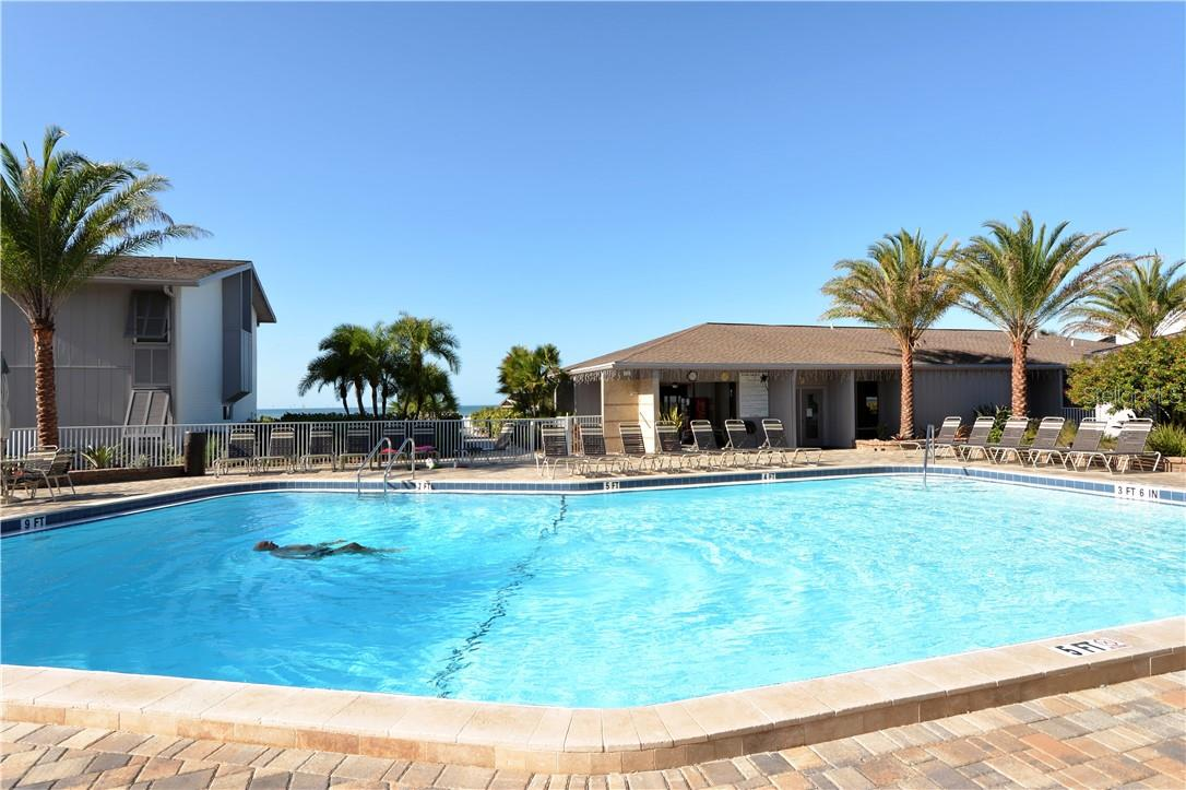 Gulfside Pool - Condo for sale at 1200 E Peppertree Ln #602, Sarasota, FL 34242 - MLS Number is A4495963