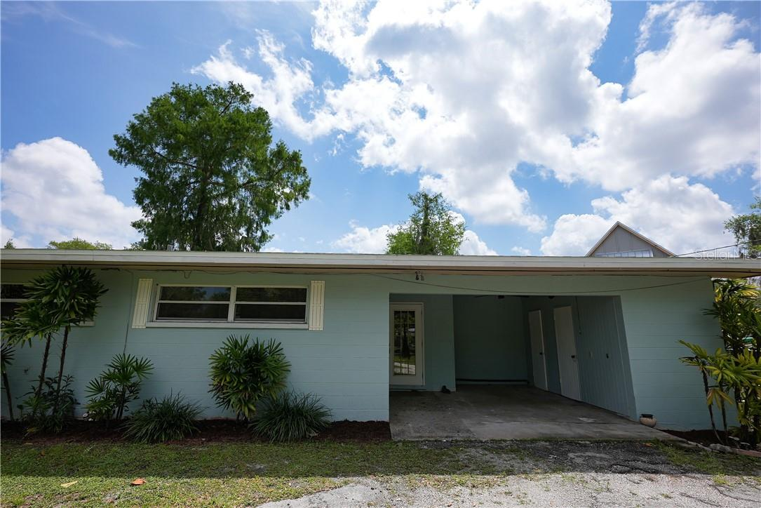 a lot of storage in car port area - Single Family Home for sale at 6607 Lincoln Rd, Bradenton, FL 34203 - MLS Number is A4497254