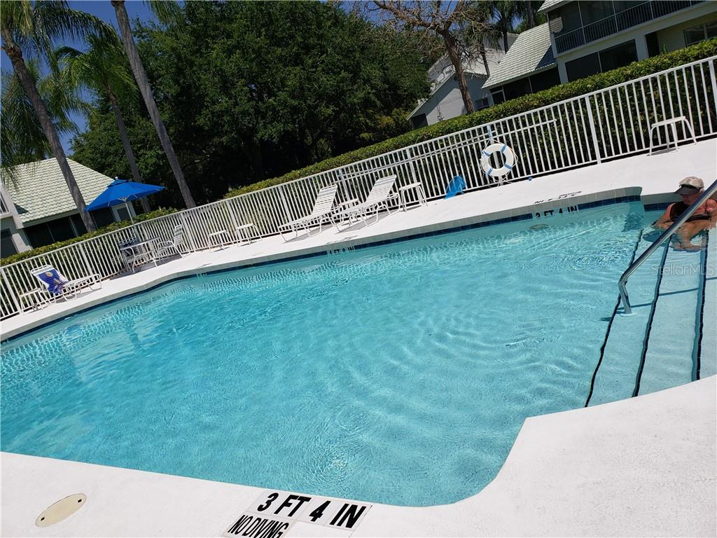 Pool - Condo for sale at 6749 Fairview Ter #201, Bradenton, FL 34203 - MLS Number is A4497580