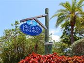 Community entrance - Single Family Home for sale at 1272 Riegels Landing Dr, Sarasota, FL 34242 - MLS Number is A4160033