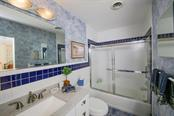 Updated guest bath. - Single Family Home for sale at 5281 Cape Leyte Way, Sarasota, FL 34242 - MLS Number is A4171478