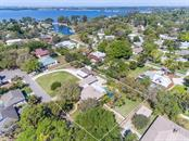 Aerial view looking northeast - Single Family Home for sale at 7812 17th Ave W, Bradenton, FL 34209 - MLS Number is A4178350