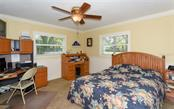 Lower level guest Bedroom. - Single Family Home for sale at 1627 Shelburne Ln, Sarasota, FL 34231 - MLS Number is A4184556