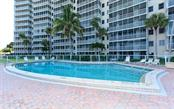 Crystal Sands swimming pool - Condo for sale at 6300 Midnight Pass Rd #806, Sarasota, FL 34242 - MLS Number is A4189340