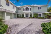 Deed Beach Access Directly Across the Street View South - Single Family Home for sale at 420 N Casey Key Rd, Osprey, FL 34229 - MLS Number is A4198418