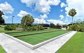 Stoneybrook's newly designed bocce courts. - Villa for sale at 9554 Forest Hills Cir, Sarasota, FL 34238 - MLS Number is A4206506