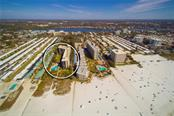 Aerial view of community - Condo for sale at 5880 Midnight Pass Rd #810, Sarasota, FL 34242 - MLS Number is A4208619