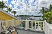 Private balcony off 3rd bedroom. - Single Family Home for sale at 417 Bayview Pkwy, Nokomis, FL 34275 - MLS Number is A4411087