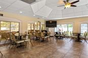 Gathering room beside the pool - Condo for sale at 446 Cerromar Rd #193, Venice, FL 34293 - MLS Number is A4414683