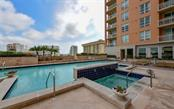 Enjoy the spa and the pool - Condo for sale at 1350 Main St #1201, Sarasota, FL 34236 - MLS Number is A4427507