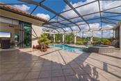 Heated pool and spa. - Single Family Home for sale at 3507 Founders Club Dr, Sarasota, FL 34240 - MLS Number is A4428010