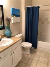 2nd Bathroom Off of Bedrooms 2 & 3 - Condo for sale at 5511 Rosehill Rd #201, Sarasota, FL 34233 - MLS Number is A4431621