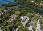 Aerial - Forked Creek and a minute to Lemon Bay / Intracoastal Waterway. - Single Family Home for sale at 1361 Bayshore Dr, Englewood, FL 34223 - MLS Number is A4433943