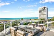 Living Room. - Condo for sale at 301 Beach Rd #301-1, Sarasota, FL 34242 - MLS Number is A4438015