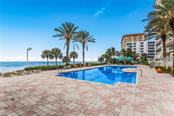 Gulf Front Pool. - Condo for sale at 1800 Benjamin Franklin Dr #b408, Sarasota, FL 34236 - MLS Number is A4444789