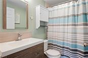 Dancing Bear Bathroom. - Single Family Home for sale at 523 Beach Rd, Sarasota, FL 34242 - MLS Number is A4446354