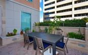 Pool area - Condo for sale at 1350 Main St #804, Sarasota, FL 34236 - MLS Number is A4451085