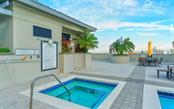 Rooftop Pool - Condo for sale at 50 Central Ave #16 South, Sarasota, FL 34236 - MLS Number is A4454416